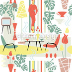 Fifties Repeat Pattern