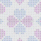 Embroidered Lucky Clover Pattern Design