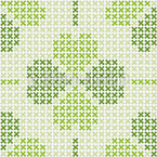 Embroidered Luck Design Pattern