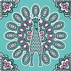 Lucky Peacock Pattern Design