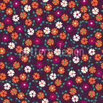 Blumen Sonatine Nahtloses Muster