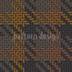 Smart Autumn Check Seamless Vector Pattern