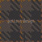 Herbst Karo Patchwork Vektor Muster