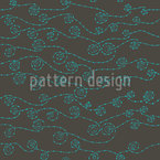 Chain Waves Seamless Vector Pattern Design