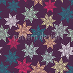 Starry Sky Of Christmas Repeating Pattern