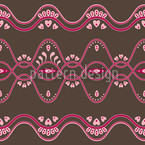 Folkloria Seamless Vector Pattern Design