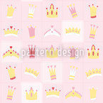 Royal Crowns Seamless Vector Pattern Design