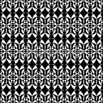 Escudos da Noite Design de padrão vetorial sem costura