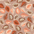 Budapest Leaf Melancholy Seamless Vector Pattern Design