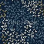 Graphical Branches Seamless Vector Pattern Design