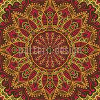 Das Herbstsari Der Maharani Musterdesign