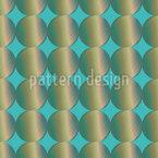 Iris Circles Seamless Vector Pattern Design