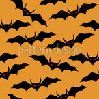 Demon Bats Repeat Pattern