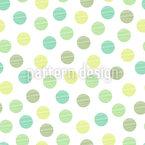 Seifenblasen Muster Design