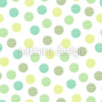Soap Bubbles Seamless Vector Pattern Design