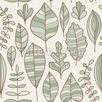 Foliage In Style Seamless Vector Pattern Design