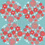 The Signs Of Christmas Pattern Design