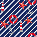 Saint Tropez Seamless Vector Pattern