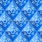 Winter Geometry Seamless Vector Pattern Design
