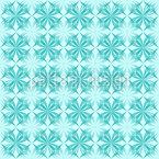 Arktik Floral Nahtloses Vektormuster