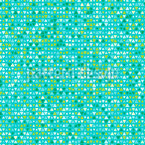 Aqua Pixel Seamless Vector Pattern Design
