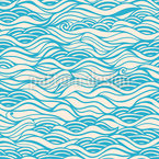 They Dreamed Of Gentle Ocean Waves Vector Ornament