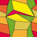 Kubismus Rapportiertes Design