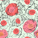 Poppy Flowers Pattern Design