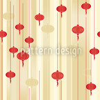 Lanterns In Light Pattern Design