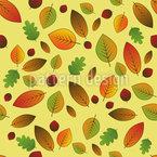 Blätter Im Wandel Vektor Muster