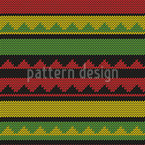Ethno Knit Design Pattern