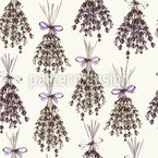 Lavender Seamless Vector Pattern Design
