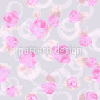 Delicate Roses Seamless Vector Pattern Design