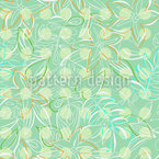 Polkadot Tropical Seamless Vector Pattern Design