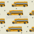 Night Shift Of A School Bus Design Pattern