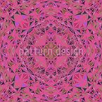 Glas Rosette Rapportiertes Design