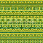 Aztek Frisch Rapportiertes Design