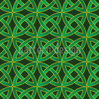 Celtic Circles Repeat Pattern