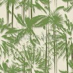 Palmen In Vietnam Nahtloses Vektormuster