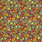 Soda Club Bubbles In Autumn Seamless Vector Pattern Design