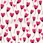 Heart Sweet Heart Seamless Vector Pattern Design