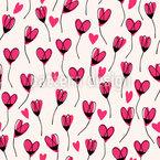 Herzchen Herzchen Nahtloses Vektormuster