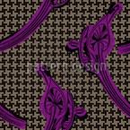 Houndstooth Callas Pattern Design