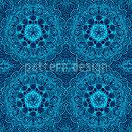 Orientalische Stickerei Nahtloses Vektormuster