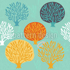 Nursery In The Winter Seamless Vector Pattern Design