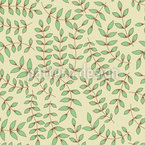 Beauty Leaf Seamless Pattern