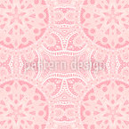 Princess Of The Orient Seamless Vector Pattern Design