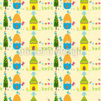 Spring Dreaming Seamless Vector Pattern Design