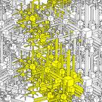 Geometrische Metropolen Vektor Design