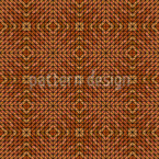 Geometric Woodland Seamless Vector Pattern Design